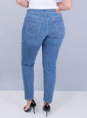 Calça Levi's Jeans Feminina 711 Skinny Clara Destroyed