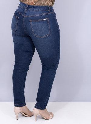 Calça em Jeans com Elastano Skinny Básica