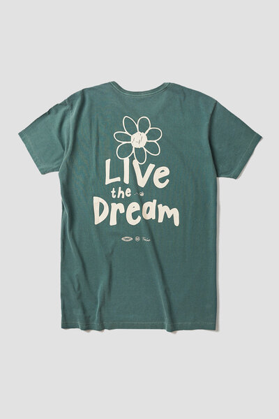 CAMISETA LIVE THE DREAM