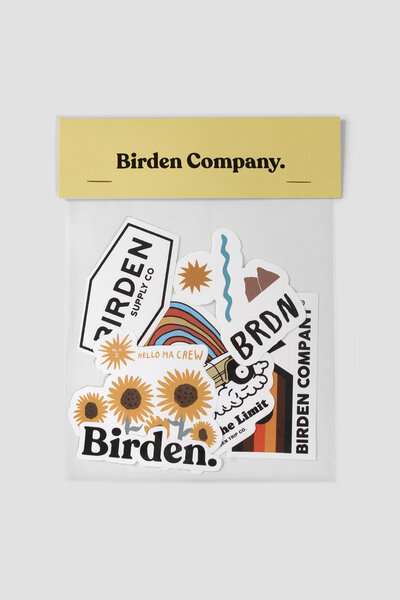 BIRDEN PACK VOL. 3 - KIT 6 STICKERS