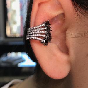 piercing raizes onix rodio negro prata925