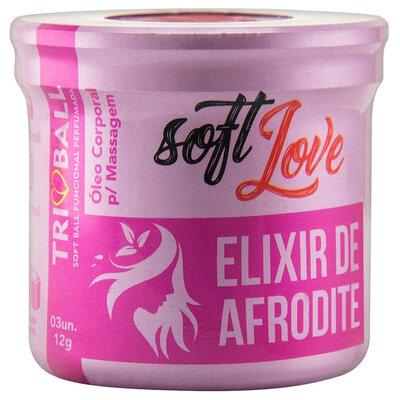 Bolinha Funcional Elixir de Afrodite de 6 Efeitos com Feromônio Feminino - 3 Unidades