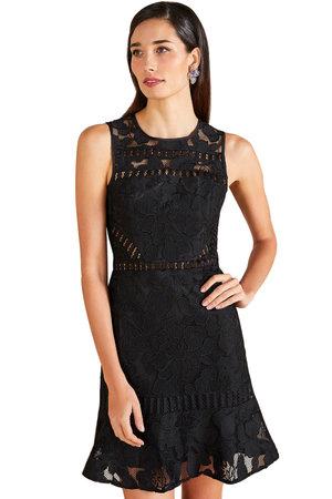 Vestido Black Renda