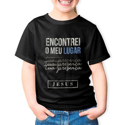 Camiseta Encontrei o Meu Lugar Infantil