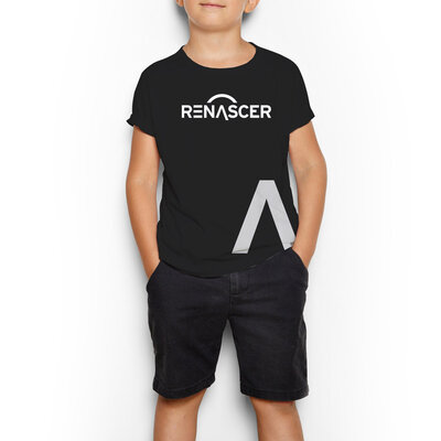 Camiseta Renascer Horizontal Infantil
