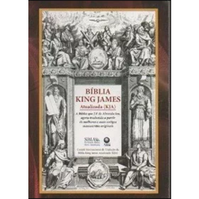 Livro Bíblia King James - Atualizada ( Kja) Sbia