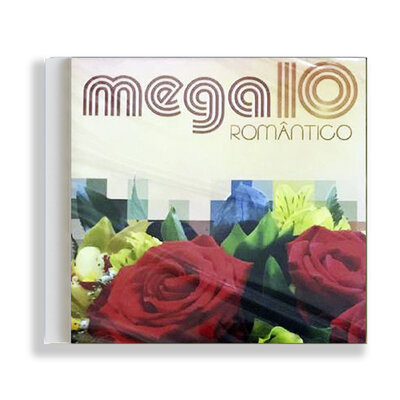 CD - Mega10 Romântico - Coletâneas