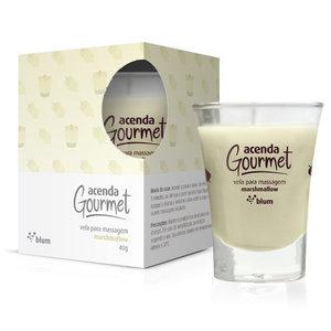 Vela Acenda Gourmet para Massagem com Aroma de Marshmallow 40g