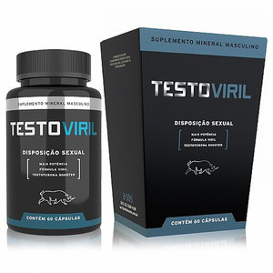 Disposição Sexual Masculina Testoviril - 60 Cápsulas