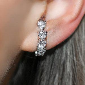 Ear Hook Hearts