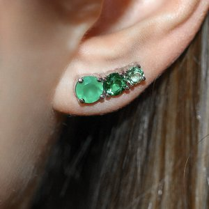 Ear Cuff Petit Colors Esmeralda