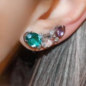 Ear Cuff Genebra Colors