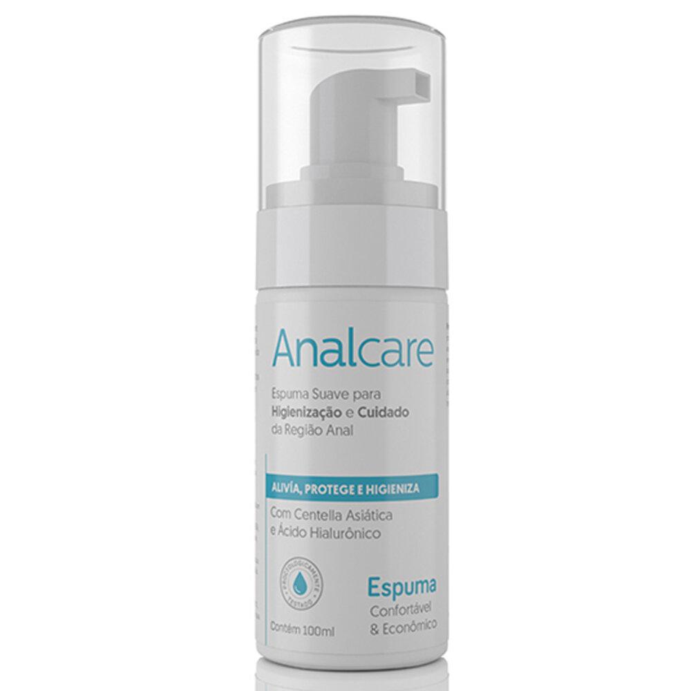 Analcare - Espuma Suave para Alívio e Proteção do Sexo Anal 100ml